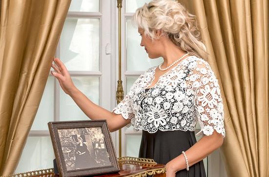 Учительница из провинциального городка продает свое ирландское кружево в Париже
