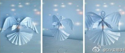 Рождение бумажного ангела. Создаем новогоднее настроение самостоятельно