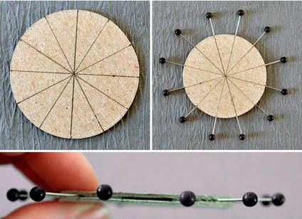 Создаём легко и просто цветы из пряжи и бечёвки, которые не распускаются....