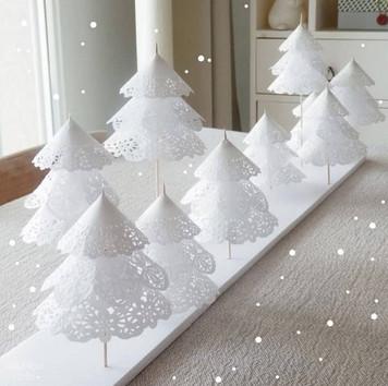 Невероятно красивые и простые новогодние поделки из бумажных салфеток