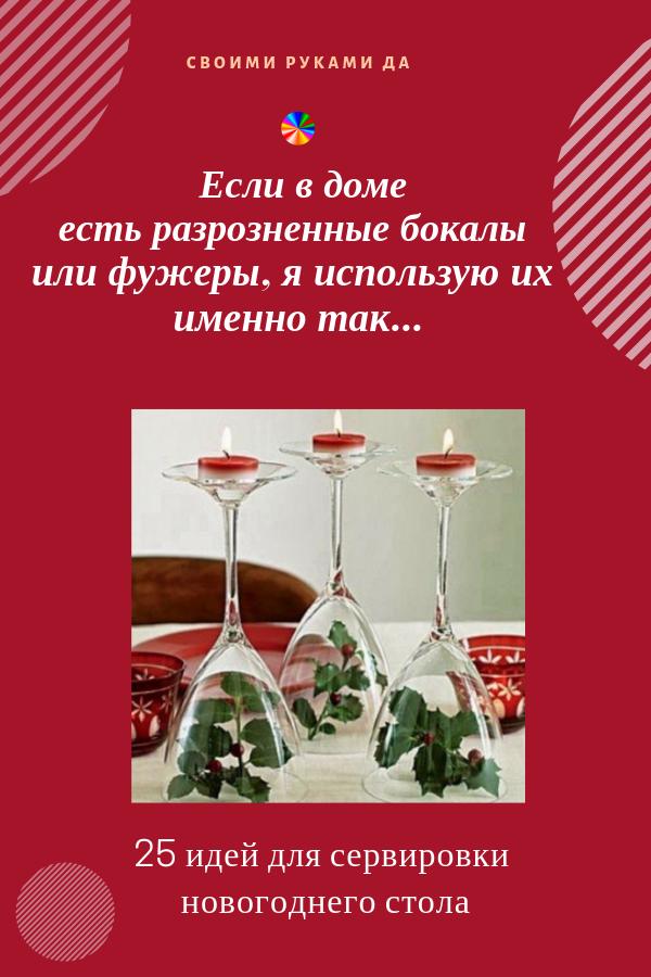 Как украсить новогодний стол... оригинальная сервировка и декор помогут вам в этом