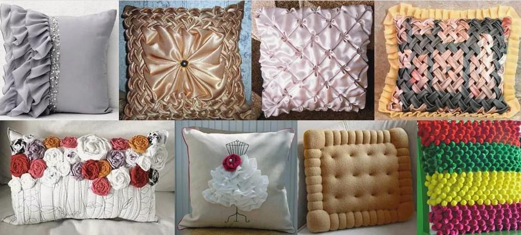 Диванные подушки в интерьере своими руками: идеи и мастер класс