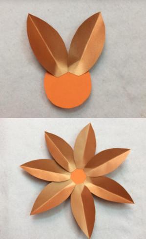 Простые цветы из бумаги. Поделки своими руками для детей к 8 марта.