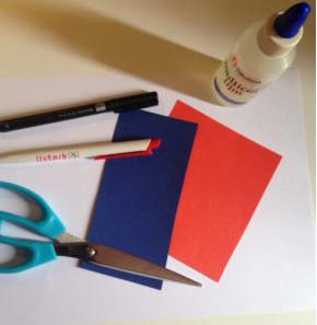 Поделки из бумаги для детей 3-4 лет. Подарок для мамы на 8 марта своими руками.
