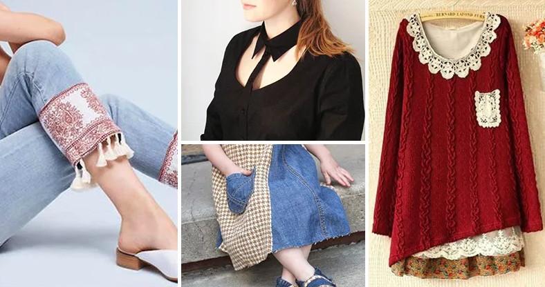 Новые стильные вещи из старой одежды. Мечты становятся реальностью!