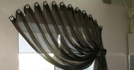 Как повесить шторы без карниза. Советы, идеи и мастер класс своими руками