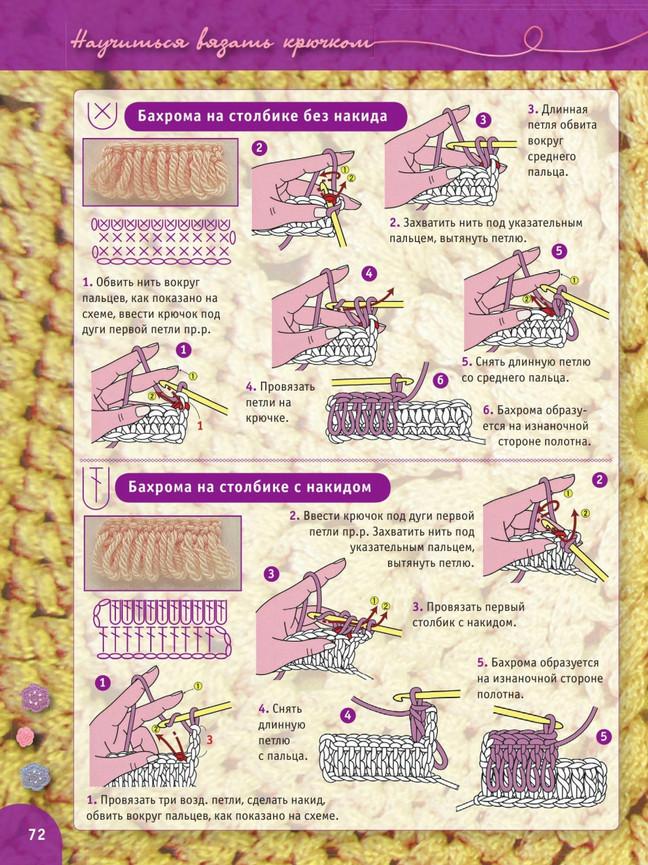 Пошаговый самоучитель вязания крючком. Урок 9