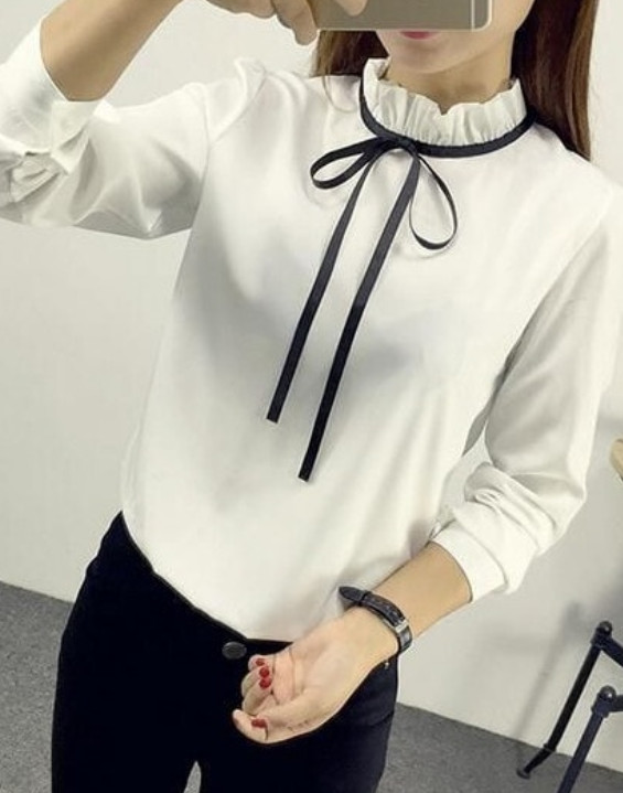 Элегантные блузки, которые так и хочется добавить в гардероб
