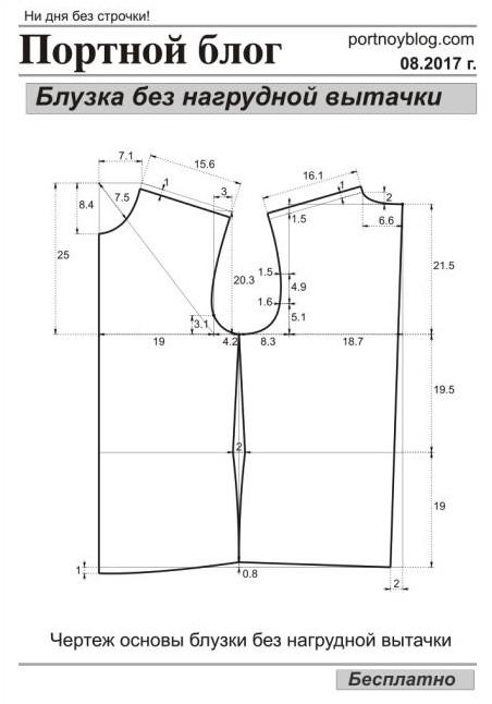 Модные легкие блузки с выкройками. Идеи и советы своими руками! Это стоит сохранить... (Часть 2)