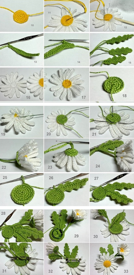 Как связать цветок: Схемы, идеи, советы и мастер класс своими руками