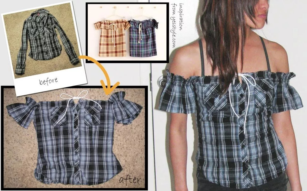 Лайфхаки с одеждой для девушек: идеи, советы и мастер класс своими руками