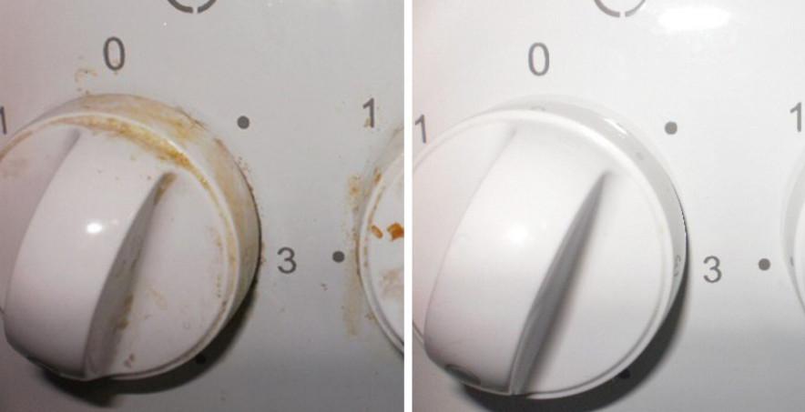 Как вымыть ручки у плиты