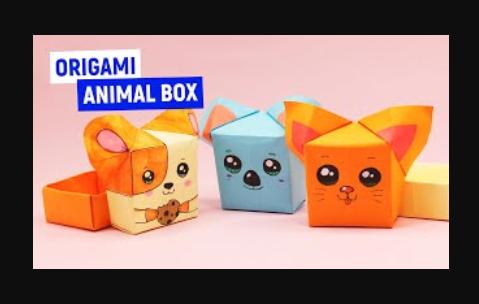 МИЛАШНАЯ КОРОБОЧКА из бумаги / Оригами для начинающих/ Как сделать коробочку из бумаги своими руками
