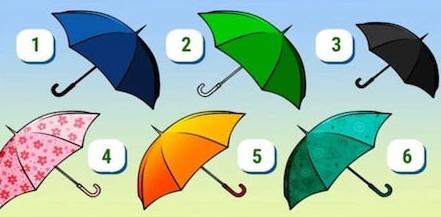 Тест: Выберите зонтик и узнайте, какая вы женщина!