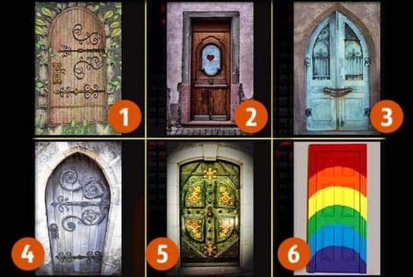 Тест: «Дверь в подсознание» – раскроет ваш характер