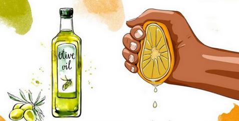 Выжмите 1 лимон, смешайте с 1 столовой ложкой оливкового масла. Это средство спасет вас в 6 случаях