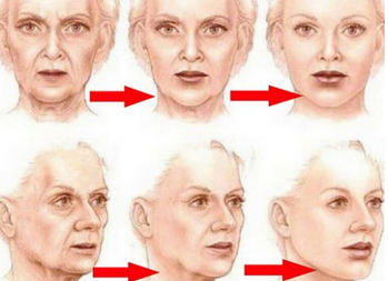 Как «поставить на место» лицо... Простое упражнение для противодействия возрастным изменениям
