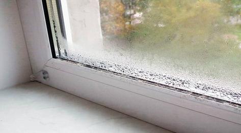 Конденсат на окнах причины и что делать