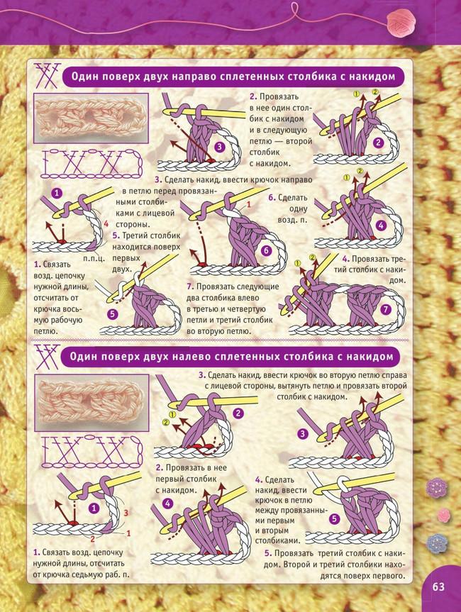 Очень большой самоучитель по вязанию крючком (300 иллюстраций)