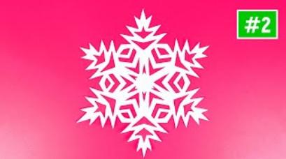 ❄Красивые снежинки из бумаги + шаблоны❄ Как сделать снежинку из бумаги❄Схемы и вырезание снежинок